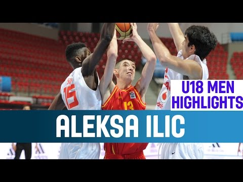 Aleksa Ilic - Highlights - 1st Round - 2014 U18 European Championship video
