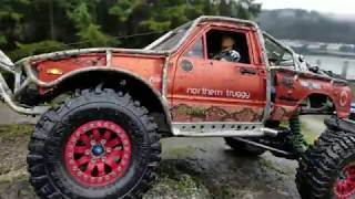 Rc 4x4 Adventure Two Trx-4 * Ascender plus Custom built Toyota Hilux First Part.