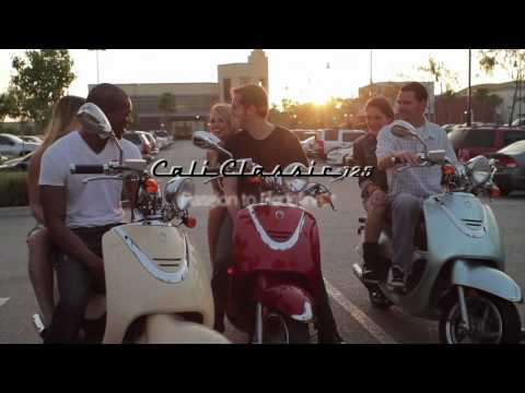 Lance Powersports 50cc 125cc Cali Classic Scooter Moped Video Ad