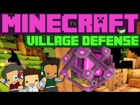 Minecraft Village Defense - GEM STEALER