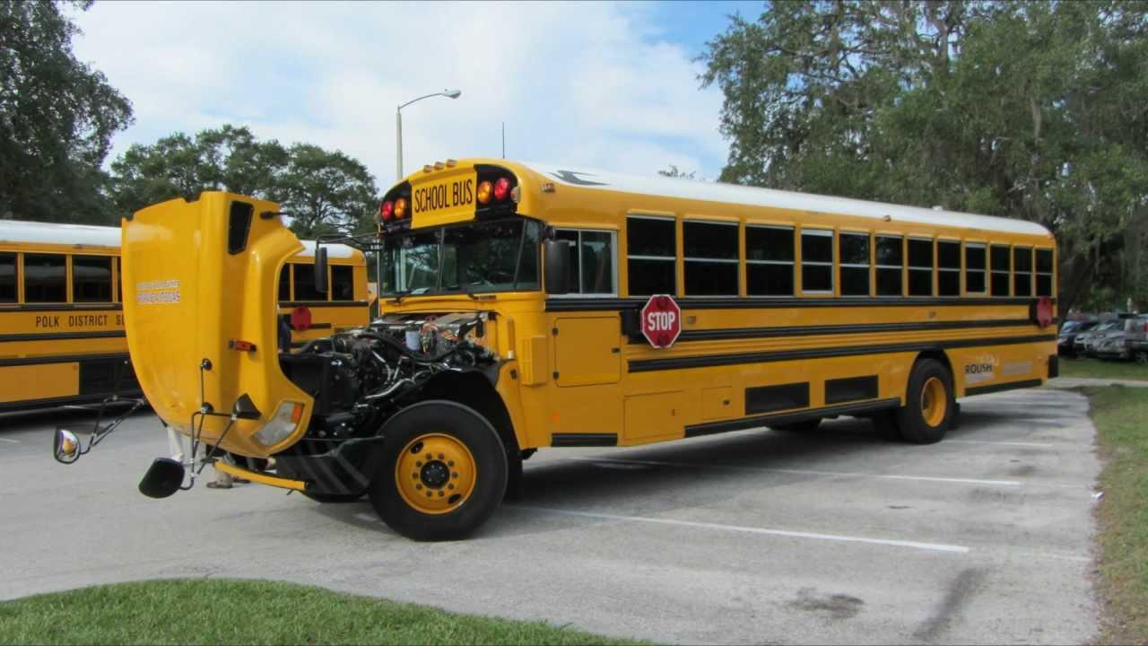 Blue Bird Bus >> Blue Bird Propane-Powered Vision School Bus 9-24-12 - YouTube