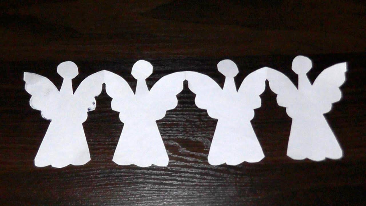 Трафареты ангелов своими руками
