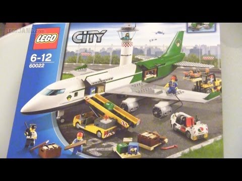 LEGO City Cargo Terminal 60022 speed build!