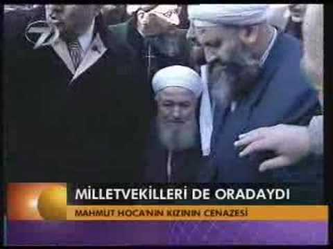 Mahmut Efendi nin kızı Fatma Muradoğlu nun cenaze merasimi