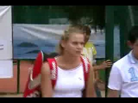 Jelena Dokic at Darmstadt (Vid #1) Video