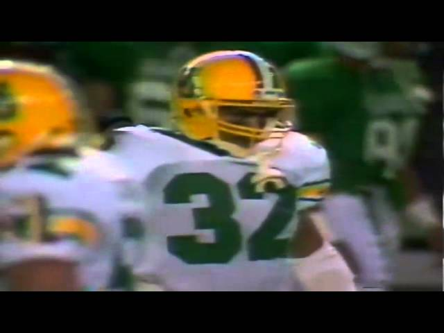 Oregon RB Derek Loville 15 yard run vs. Hawaii 12-03-1988