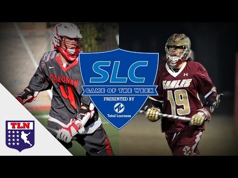 Boston College vs Chapman | MCLA | SLC Game of The Week presented by Total Lacrosse