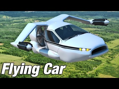 � Flying Car - Terrafugia TF-X introduction