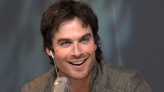 "Ian Somerhalder Wants In On ""50 Shades"" Film 