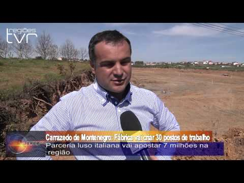 Carrazedo de Montenegro: F�brica vai criar 30 postos de trabalho