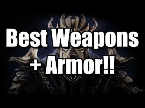 Skyrim - Dragonborn: The most powerful weapons and armor!