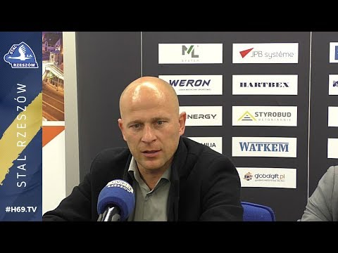 #H69 TV |KONFERENCJA PRASOWA| Stal Rzeszów - Wisła Sandomierz |2018.11.03|