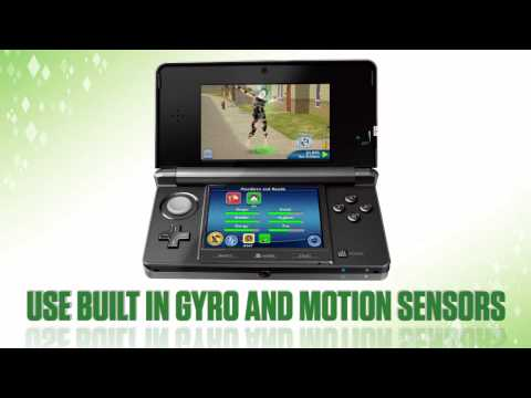 Trevor Mountleg Presents The Sims 3 Pets On The Nintendo 3DS