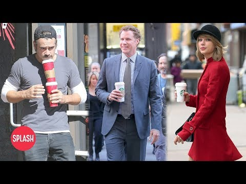 Celebrities Love Their Starbucks | Daily Celebrity News | Splash TV