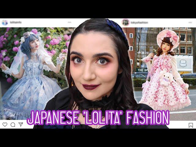 I Got A Japanese Lolita Fashion Makeover thumbnail