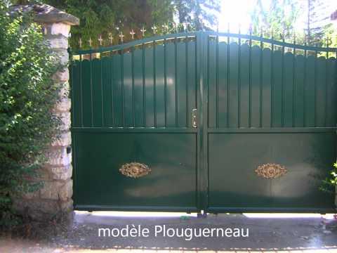 Mod le de portail en fer page 1 10 all for Portail fer forge tunisie