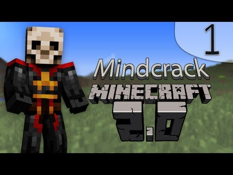 Minecraft 2.0 Beta Ep 1: Multiplayer Dungeon World first