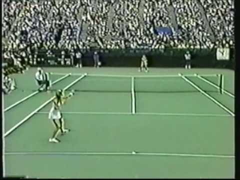 Chris Evert vs. Tracy Austin: Famous 1980 US Open semifinal! Video