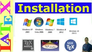 LaTeX Introduction and Installation in Windows (Latex Tutorial, Episode-01)
