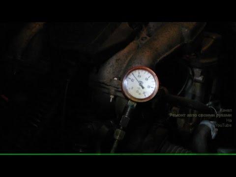 Видео как проверить регулятор давления топлива