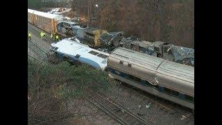 Крушение поезда в Южной Каролине