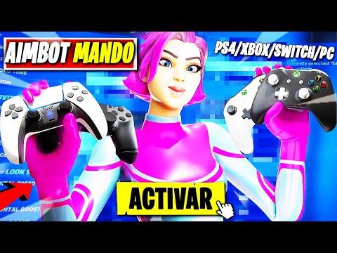La NUEVA *MEJOR SENSIBILIDAD Para FORTNITE PS4* AIMBOT *MEJOR CONFIGURACIÓN* PS4/XBOX/PC TEMPORADA 7