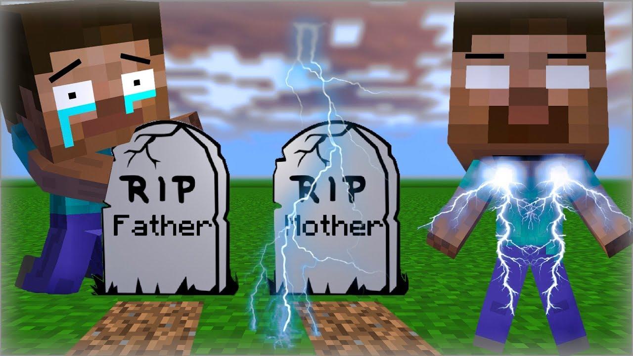 Monster School : Herobrine's Life Part I -  Minecraft Animation