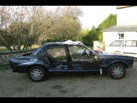 Restauration D'une Peugeot 505