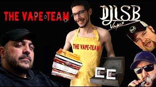 The Vape Team Episode 121 Djlsb Vapes Is Hot