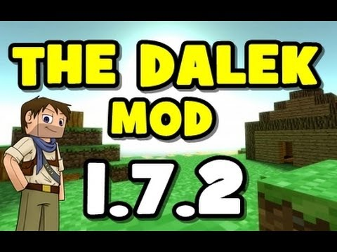 ★ How To Install DALEK MOD for Minecraft 1.7.2