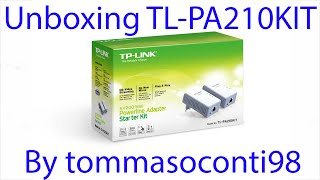Unboxing e montaggio Powerline TP-LINK TL-PA210KIT [ITA]