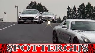 AMG Driving Academy at the Nürburgring Nordschleife! LOUD V8 noises!