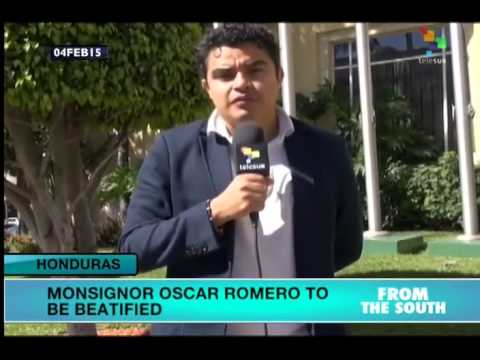 Beatification of Oscar Romero big news in Central America