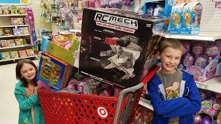 Target Toy Hunt Fun Kids Toys for Boys and Girls Kid Friendly Video Family Fun by Kinder Playtime