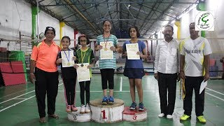 Durva Sports Academy//1st Badminton Championship 2019//ighlight