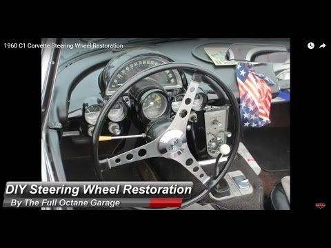 DIY Steering Wheel Restoration on a budget with professional results!