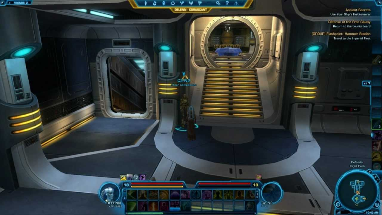 Swtor starships defender jedi consular jedi knight for Who is a consular