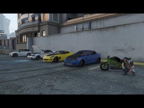 Grand Theft Auto  Garage Tour
