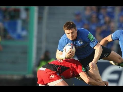 Brian O'Driscoll's Heineken Cup career ended by terrific Toulon