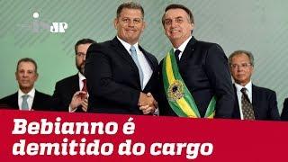 Cai o ministro Gustavo Bebianno