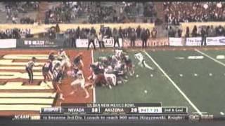 2012 New Mexico Bowl Arizona vs Nevada