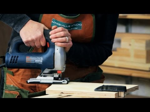 How to Use a Jigsaw   Woodworking