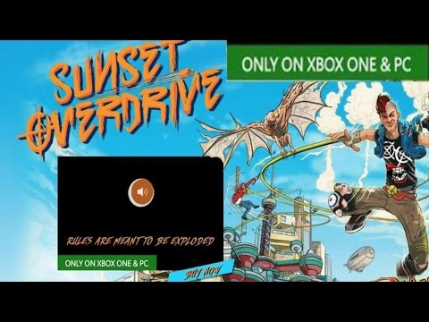 Sunset Overdrive PC Ad A Mistake? LOL Give Me A Break...