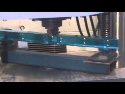 Steel I-beam Testing Day RMIT 2013 ~ HD