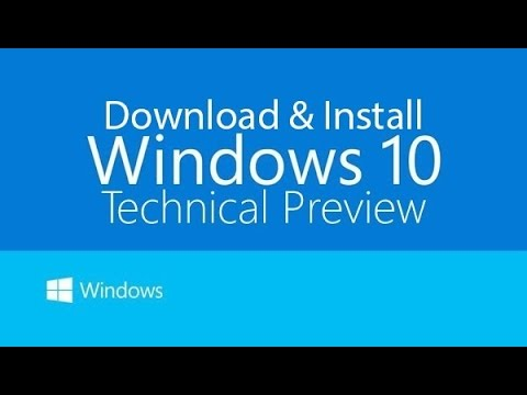Windows 10 Technical Preview - Upgrade from Windows 8.1
