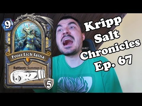 Kripp - Salt Compilation [Ep. 67] Hero cards in arena [Hearthstone, best moments]