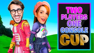 TWO PLAYERS ONE CONSOLE CUP - 70.000 PARTECIPANTI - FORTNITE