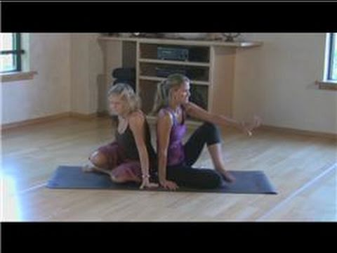 Yoga Techniques : Partner Yoga Poses. Positions and Techniques