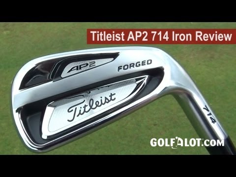 Titleist AP2 714 Iron Review by Golfalot