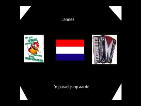jannes - 'n paradijs op aarde